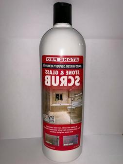 Stone Pro 1 Quart Hard Water Deposit Remover - Stone and Gla