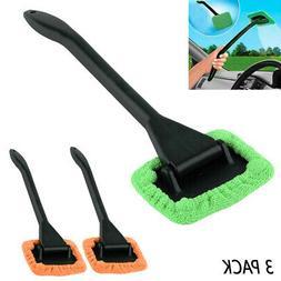 3 Microfiber Windshield Wiper Clean Car Auto Cleaner Glass W