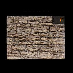 SHJNHAN 3D Foam Rock Reptile Stone Aquarium Background Backd