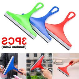 3X Glass Window Soap Cleaner Wiper Squeegee Home Car Blade B