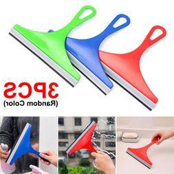3X Glass Window Soap Cleaner Wiper Squeegee Home Car Blade B