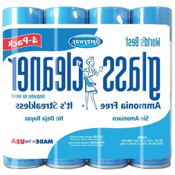 4 glass cleaner 19oz cans ammonia free