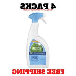 4-Pack Seventh Generation Free & Clear Glass Cleaner Fragran