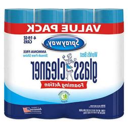 4 PACK Sprayway Glass Cleaner 19 oz Streak Free Spay Shine F