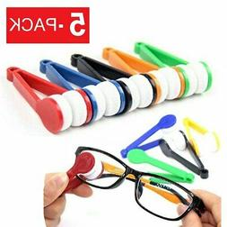 5 pack mini eyeglass cleaner sunglass spectacles