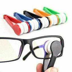 5-Pack Mini Sun Glasses Eyeglass Cleaner Brush Microfiber Po