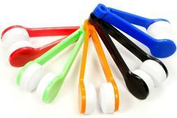5Pcs Sun Glasses Eyeglass Cleaner Microfiber Cloth Lens Wipe