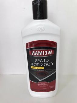 Weiman Glass Cooktop Heavy Duty Cleaner & Polish -  Shines a