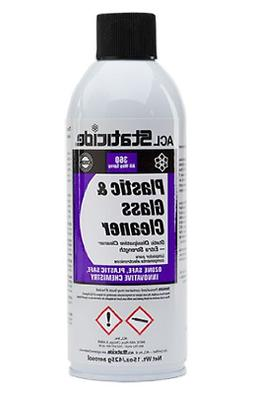 ACL Staticide 8670 Plastic and Glass Cleaner, Aerosol, 15 oz