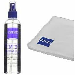 8oz Zeiss Spray Bottle & Cloth Lens Cleaner Eye Glasses Came