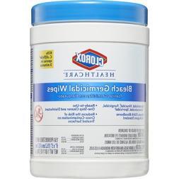 Clorox Healthcare 30577CT Bleach Germicidal Wipes, 6 x 5, Un