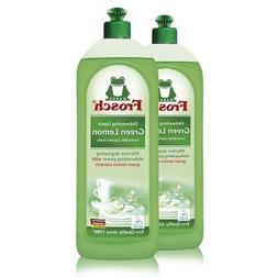 Frosch Natural Green Lemon Hand Dish Washing Soap, 750 ml