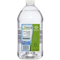 Green Works 00460 64 oz Bottle, Natural Glass And Surface Cl