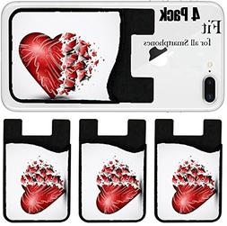 Liili Phone Card holder sleeve/wallet for iPhone Samsung And