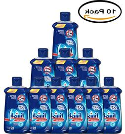 PACK OF 10 - Finish Jet Dry Dishwasher Rinse Aid, 8.45 Ounce