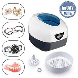 Ultrasonic Cleaner Low Noise Wash Machine for Cleaning Eyegl