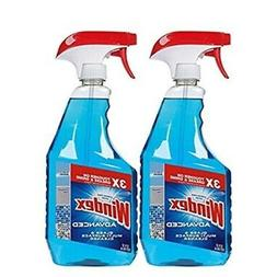 Windex Advanced Glass & Multi Surface Cleaner, 32 Oz, Pack o