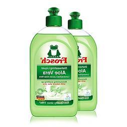 Frosch Natural Aloe Vera Liquid Hand Dish Washing Soap, 500