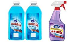 Great Value Ammonia Free Glass Cleaner, 32 fl oz and  Great