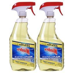 Windex Antibacterial Multi-Surface Cleaner, 32 Fl Oz Spray B