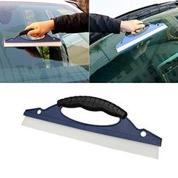 ASMILE Soft Silicone Car Care Windowshield Scraper Car Wash