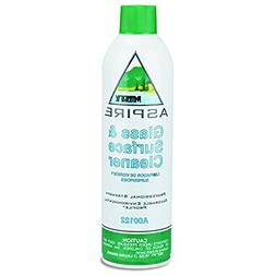 Aspire Glass & Surface Cleaner, Lemon Scent, 16 oz. Aerosol