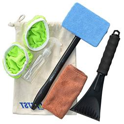 Auto Car Windshield Cleaner Auto Glass Wiper, Come with Clea