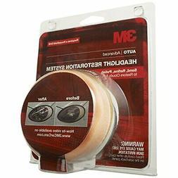3M Automotive Car Care Headlight Lens Cleaner Polish Restora