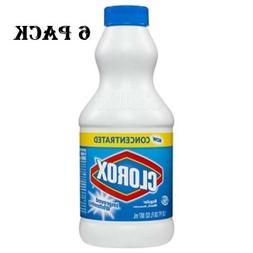 Clorox Bleach Liquid Regular Concentrated 30 oz,