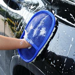 Car Cleaning Sponge Brush Car Washing Glove Soft Car Care Gl