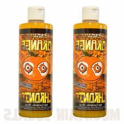 Orange Chronic Cleaner 2x 16 oz - Cleans Glass Metal Pipes U