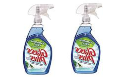 Glass Plus Glass Cleaner, 32 fl oz Bottle, Multi-Surface Gla