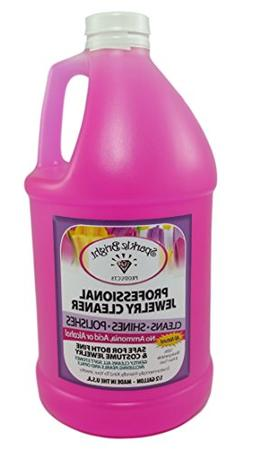 Sparkle Bright All-Natural Jewelry Cleaner Solution - 1.7oz