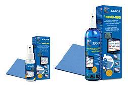 Screen Cleaner Kit - Natural, Streak-Free, Antibacterial - F