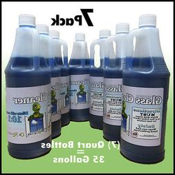 Commercial Glass Cleaner    35Gallons, Dilutes to 350gallons
