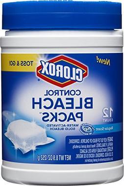Clorox Control Regular Bleach Packs, Regular Scent, 1 Pack o