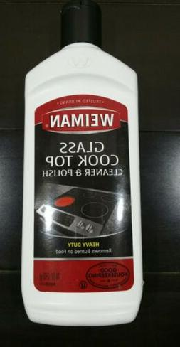 Weiman Cooktop Cleaner and Polish 10 Ounce