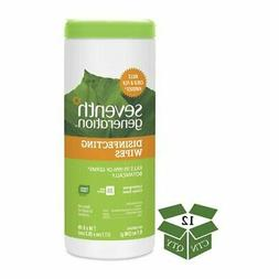 Seventh Generation Disinfecting Wipes Lemongrass Can 35 Coun