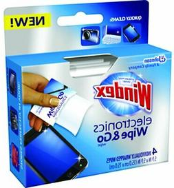 Windex Electronics Wipes 4 Count Individually Wrapped