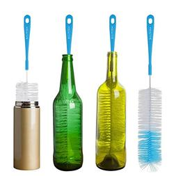 "16"" Long Bottle Brush Cleaner for Washing Wine, Beer, Swell,"