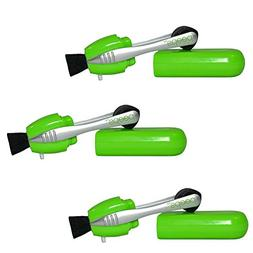 Peeps Eyeglass Cleaners 3 Pack Set   Lime Green
