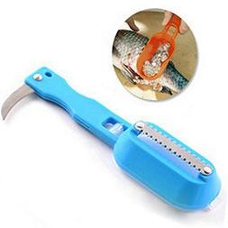 Fish Scales Skin Remover Scaler Knife Fast Cleaner Home Kitc