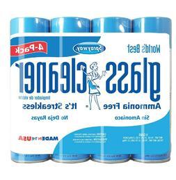 Sprayway Foaming Glass Cleaner Streakless Shine Ammonia Free