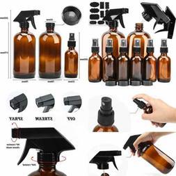 Glass Spray Bottle, KAMOTA Amber Glass Spray Bottles Set Ref
