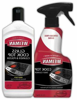 Weiman Glass Ceramic Cooktop Cleaner 10Ounce Stove Top Daily