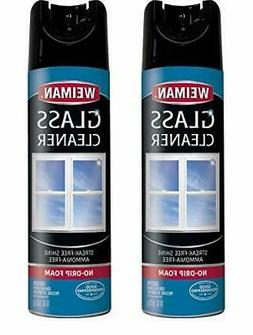 Weiman Glass Cleaner - 19 Ounce 2 Pack - Non-Toxic Professio