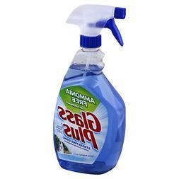 Glass Plus Glass Cleaner, 32 fl oz Bottle, Multi-Surface Gla