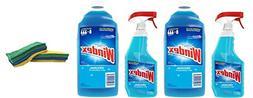 Windex Original Glass Cleaner Pack, Refill 67.6 fl oz + Trig