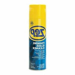 ZEP COMMERCIAL 1046502 Glass Cleaner Aerosol,Foaming,20 oz,P
