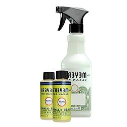 Mrs. Meyer's Glass Cleaner Concentrate, Lemon Verbena, 2 OZ,